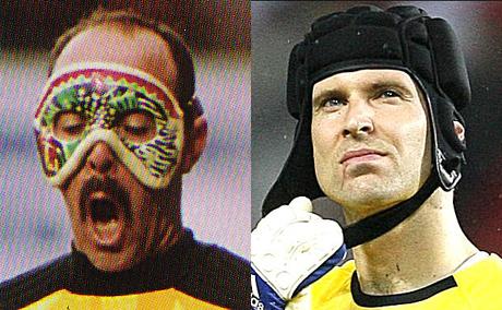 Petr Cech v. Bruce Grobbelaar
