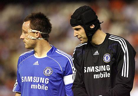 John Terry & Petr Cech