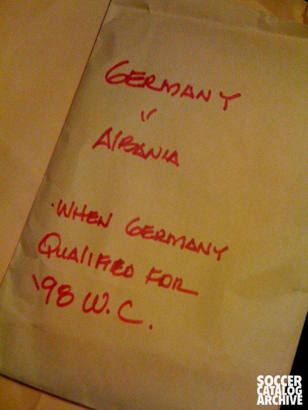 Photos from German v. Albania