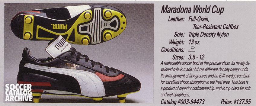 Puma Maradona World Cup boots